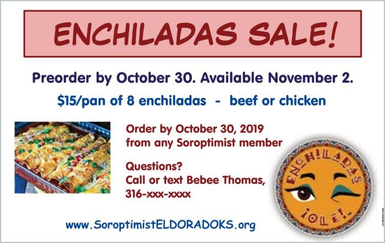 2019.Enchladas.Fundraiser